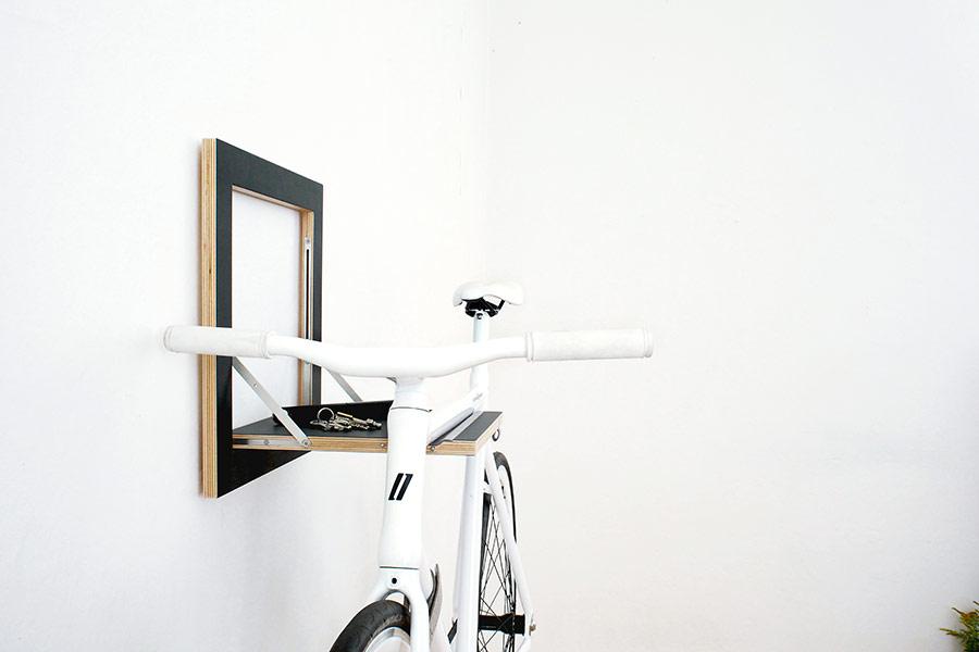 Bike, Lenkergriffe, Mikili, Rad, Fahrrad, Style, Gadgets, fixie, wandhalterung, fahrradständer, fahrradaufhängung,