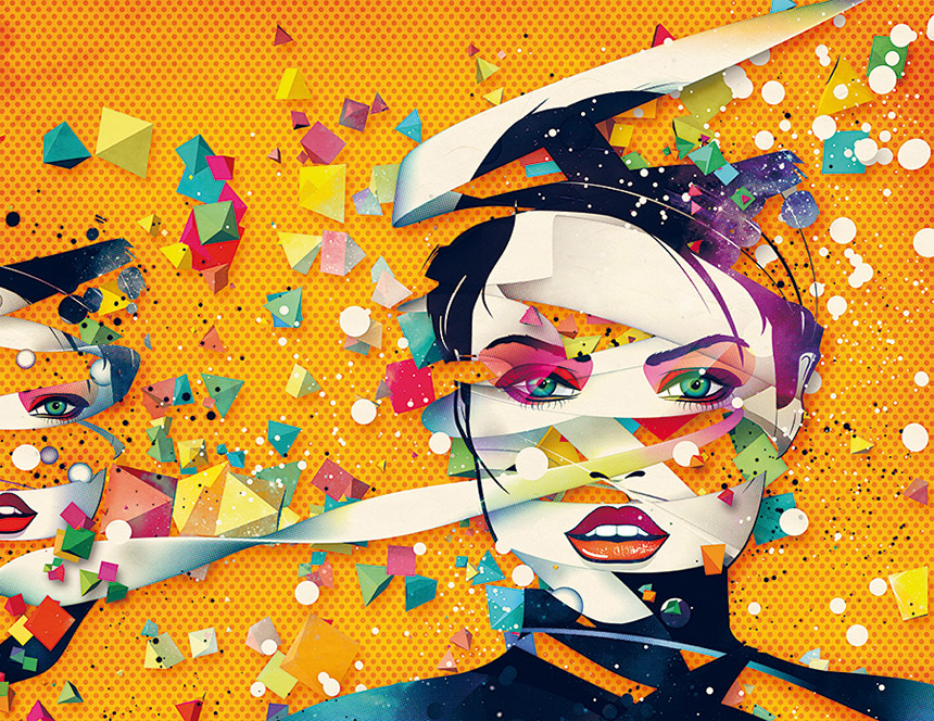 in graphics we trust, style, onufszak, graphicdesign, design, grafikdesign, collagen, adidas, mtv, ray ban, motion design, vj