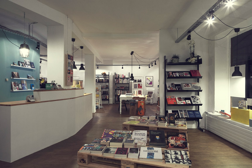 the bookstore, dortmund, places, pascromag